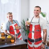 Şorţ de bucătărie model Crăciun - bărbaţi Best CarHome