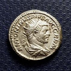 Moneda  argint Antoninianus, Caracalla, Imperiul Roman (198-217)