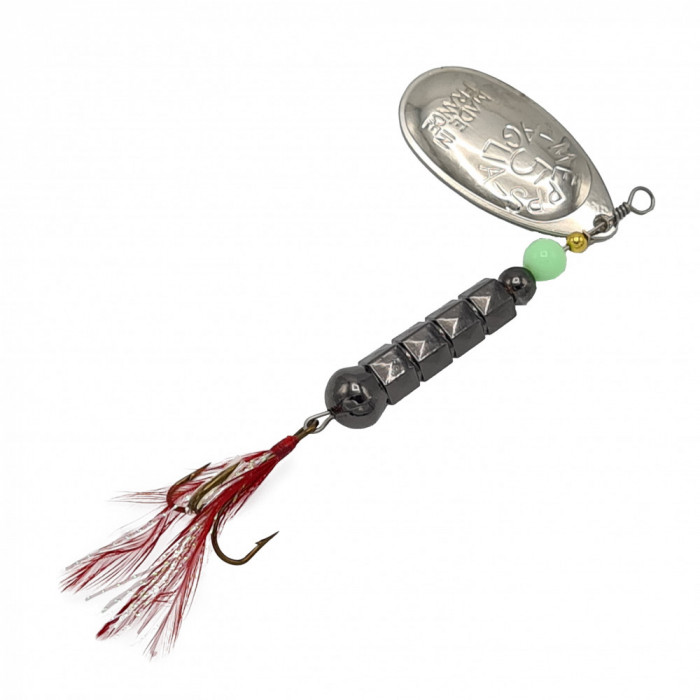 Lingurita rotativa pentru pescuit, model LR03, culoare multicolor