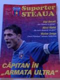 """Revista fotbal - """"Suporter STEAUA"""" (Nr.1/septembrie/2004)-poster M.Radoi"""