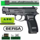 Pistol BERSA Thunder 9PRO airsoft ASG Danemarca CO2+1000BB 0,28gr+6CO2 Walther