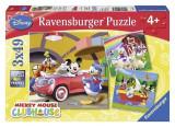 Puzzle Disney Mickey Mouse Clubhouse (3X49 Pcs), Ravensburger