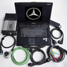 Laptop militar Panasonic Cf53 I5 500 Gb + Interfata Mercedes C4/C5 full Activata