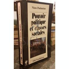 POUVOIR POLITIQUE ET CLASSES SOCIALES DE L'ETAT CAPITALISTE - NICOS POULANTZAS