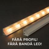 Ecran transparent pt. profil aluminiu LED - 1000 mm Best CarHome