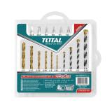 Cumpara ieftin Set burghie/biti pentru beton Total, 16 piese