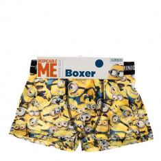 Boxeri baieti Minions galbeni