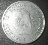 Danemarca - Moneda - 1 KRONE- anul 1965 - produsul din imagini, Europa