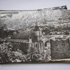 Carte postala - Brasov, Biserica Neagra, Circulata, Fotografie