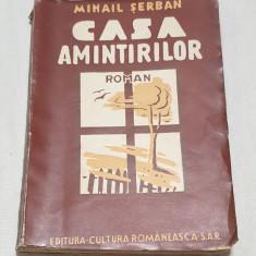 Carte NUMEROTATA veche de Colectie anul 1942 - CASA AMINTIRILOR - Mihail Serban