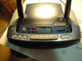 Radio casetofon recorder cu CD player Sony CFD-S01, manual, cu mici probleme