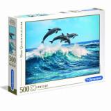 Cumpara ieftin Puzzle High Quality Delfini, 500 piese, Clementoni