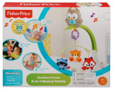 Cumpara ieftin Carusel 3 in 1 Fisher Price Butterfly Dreams