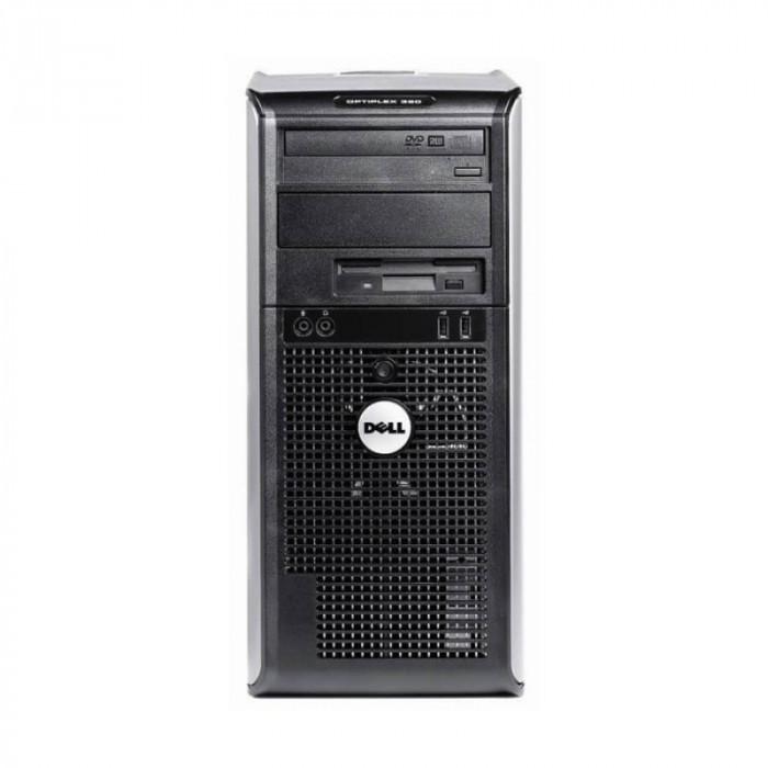 Calculatoare Second Hand Dell Optiplex 380 MT, Core 2 Quad Q9300
