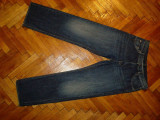 "Blugi Hugo Boss ""Arkansas""-Marimea W34xL32 (talie-89cm,lungime-110cm)"