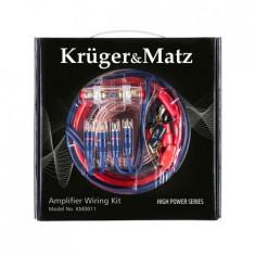 Kit cabluri amplificator auto kruger&matz;