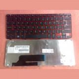 Cumpara ieftin Tastatura laptop noua DELL Inspiron M101z RED Frame Black