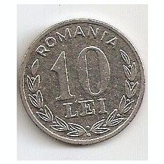MONEDA  ROMANIA 10 LEI 1995