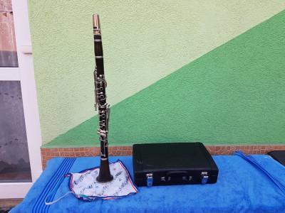 Clarinetul Inscriptionat cu s2449. foto