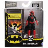 Figurina Batwoman, 10 cm, cu 3 accesorii, Spin Master