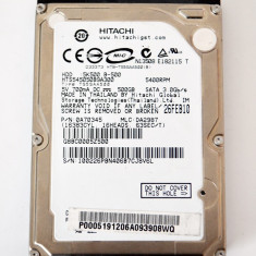 Hdd Hard Disk laptop Hitachi GST Travelstar 5K500.B HTS545050B9A300 500GB sata