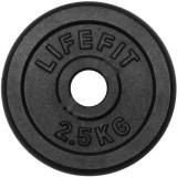 Disc de otel DHS, 2.5 kg, 15.7 x 2.3 cm, Negru