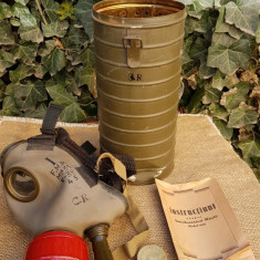 Masca de gaze romaneasca WW2, model 1935.