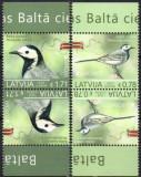 LETONIA 2019, EUROPA CEPT, Fauna, Pasari, serie neuzata, MNH, Nestampilat