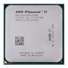 Procesor AMD Quad Core Phenom IIX4 965 3.4GHz socket Am2+ AM3 Am3+ 125W si pasta, 4