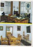 Bnk cp Valenii de Munte - Muzeul Nicolae Iorga  - Interioare - necirculata, Printata