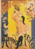 AFIS - Folies Bergères - Alfred Choubrac - REPRODUCERE