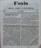 Foaia pentru minte , inima si literatura , nr. 26 , 1863 , Brasov , I. Muresanu