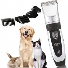 Masina Profesionala de Tuns Caini, Pisici sau Alte Animale, Adler, Putere 35W, Titan