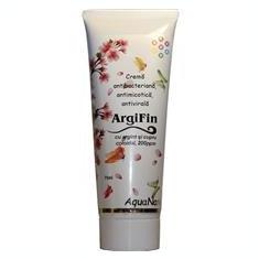 Crema Antibacteriana cu Argint si Cupru Coloidal ArgiFin 75ml Aghoras Cod: 22550