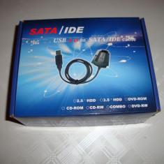 Adaptor recuperat date HDD IDE Sata USB laptop sau calculator desktop