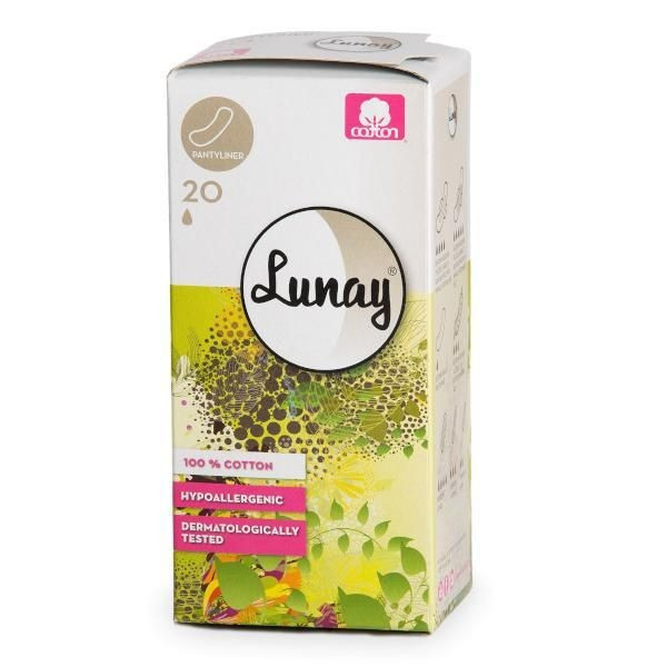 Absorbante zilnice din bumbac 1 picatura (pantyliners)