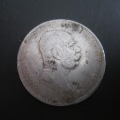 Imperiul Austro- Ungar _ 5 coroane (korona) _ 1908 _ moneda din argint