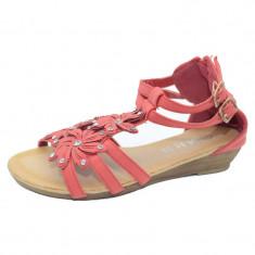 Sandale pentru fetite MRS 117-2CO, Coral