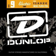 Corzi chitara electrica Dunlop Nickel Plated Steel 9 - Light 9-42