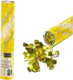 TUN confetti panglici aurii 40 cm, Auriu