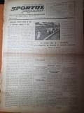 sportul popular 29 octombrie 1953-campionatul de tir,volei,sah,cupa la rugby