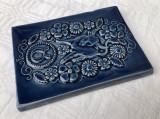 Placheta din ceramica suedeza JIE reprezentand zodia Taur