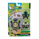 Set ceas Ben 10 Omnitrix lansator cu 2 figurine Cap de Diamant si Cannonbolt