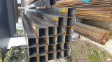 Tevi rectangulare 80x80x3 mm