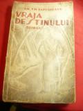 Gh.Th.Lapusneanu - Vraja Destinului - Prima Ed.1940 Rotativa ,desene Neagu Radul