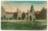 1243 - CERNAUTI, Bucovina - old postcard, CENSOR - used