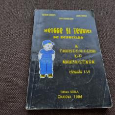 METODE SI TEHNICI DE REZOLVARE A PROBLEMELOR DE ARITMETICA CLASELE I-V SIBILA
