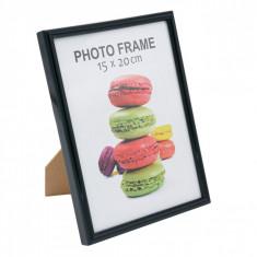 Rama foto, model cadru negru, 15×20 cm