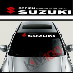 Sticker parasolar auto SUZUKI (126 x 16cm)