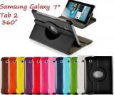 Husa rotativa 360 Samsung Galaxy Tab 2 Tab2 7.0 P3100 P3110 + stylus, 7 inch
